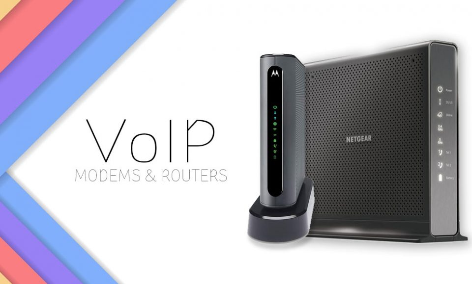 Best Voice over IP (VoIP) Modem Routers